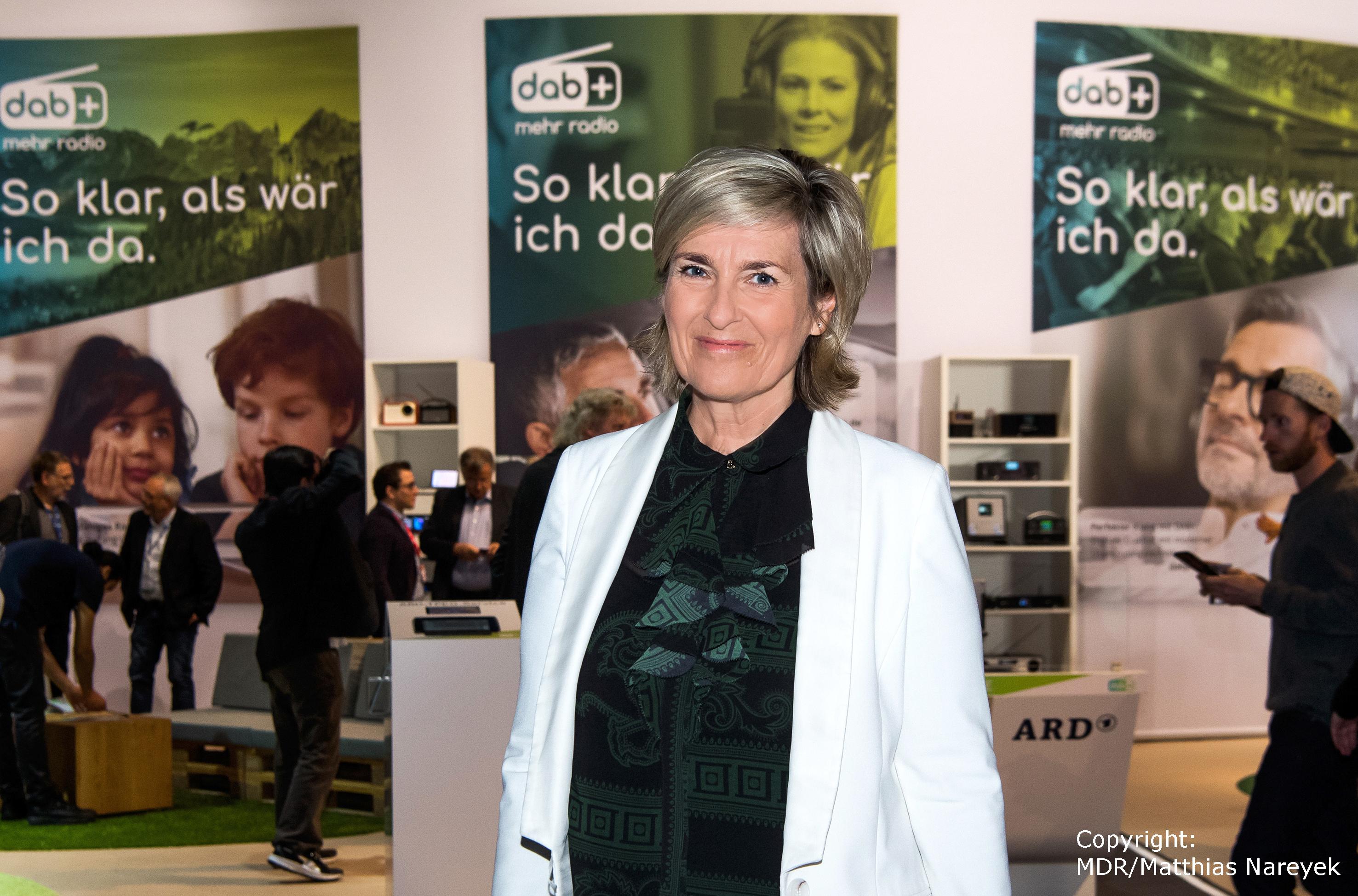 IFA Tag 5 – ARD-Vorsitzende und MDR-Intendantin Prof. Karola Wille