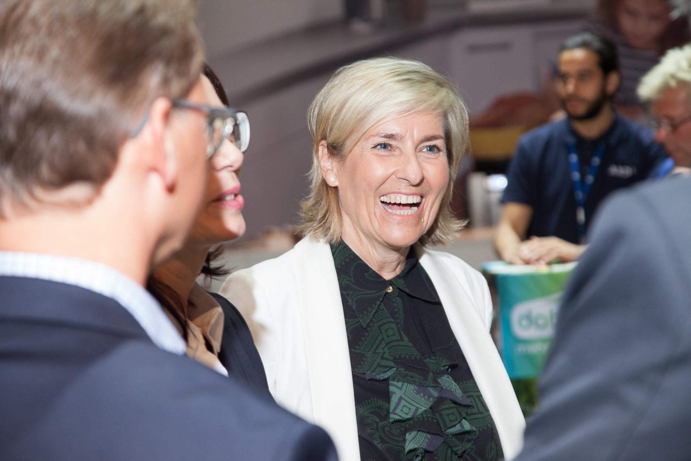 ARD-Vorsitzende und MDR-Intendantin Prof. Karola Wille bei DAB+
