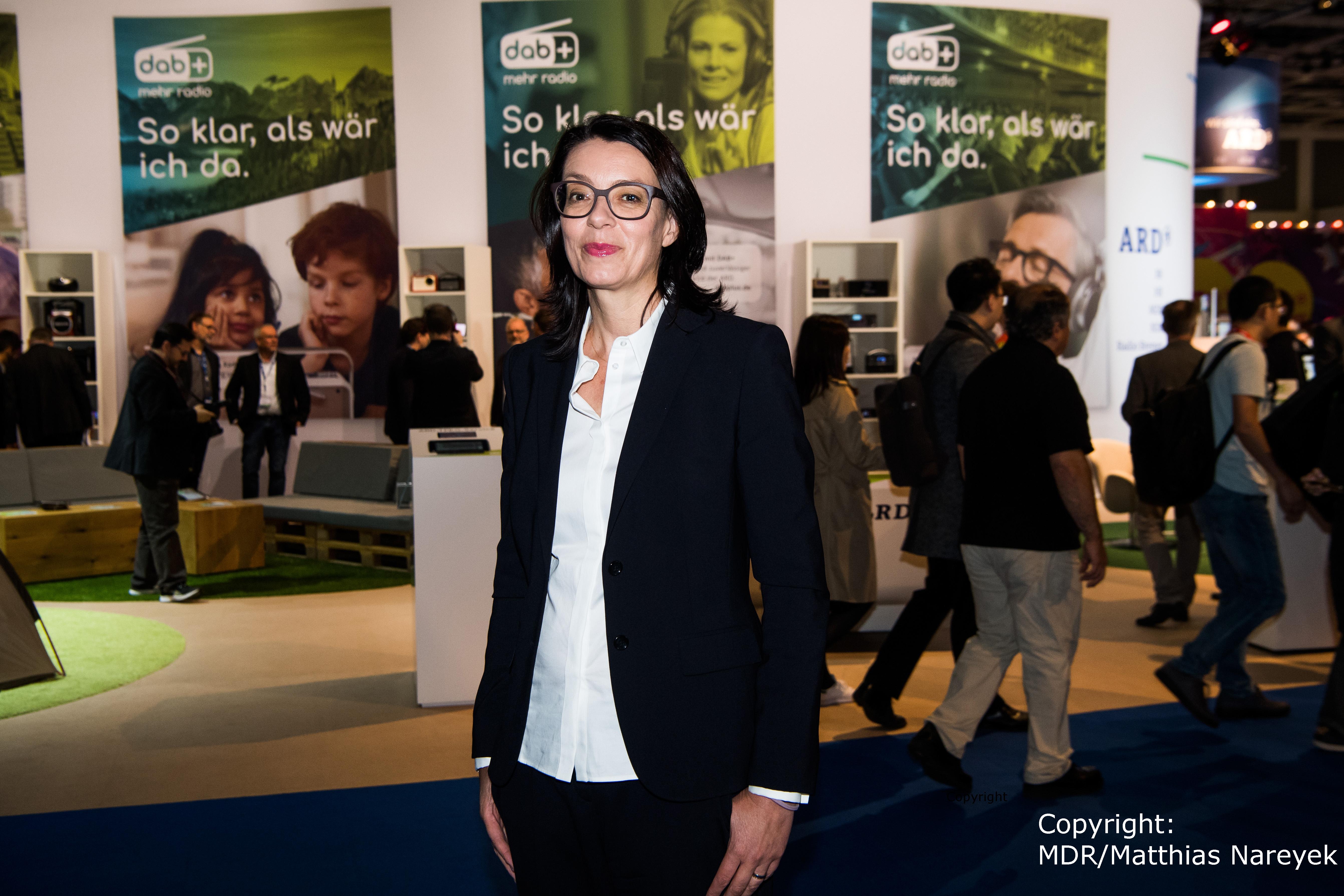 IFA Tag 4 – Frau Wappler Hagen MDR Programmdirektorin